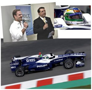 Bit Company patrocina Rubens Barrichello na Fórmula 1